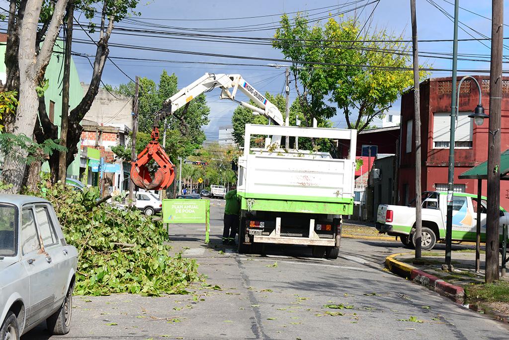 San Fernando Municipio - El COEM realizó tareas preventivas ante el ...